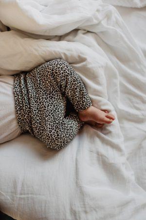 Baby broekje met panter print